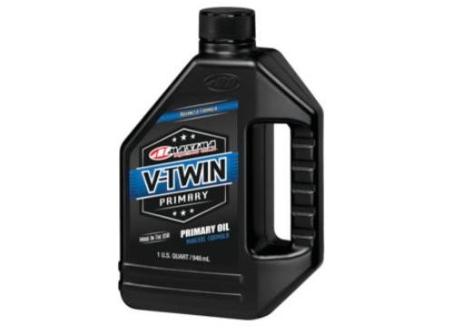 Maxima 40-04901 V-Twin Primary Oil 1 Qt.