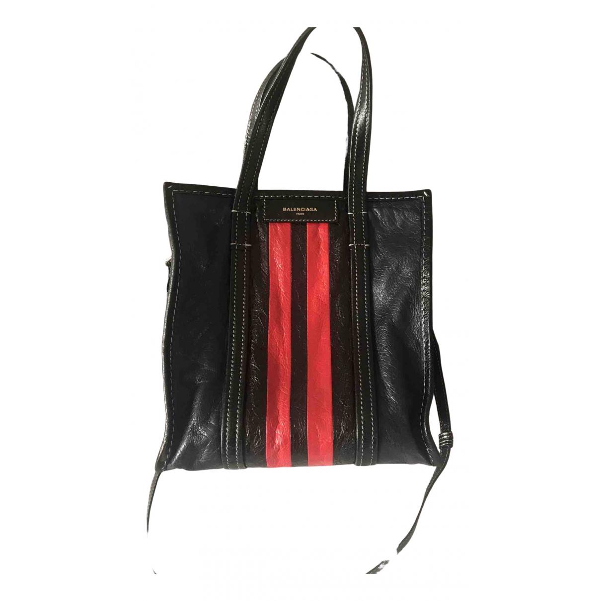 Bolso  Bazar Bag de Cuero Balenciaga