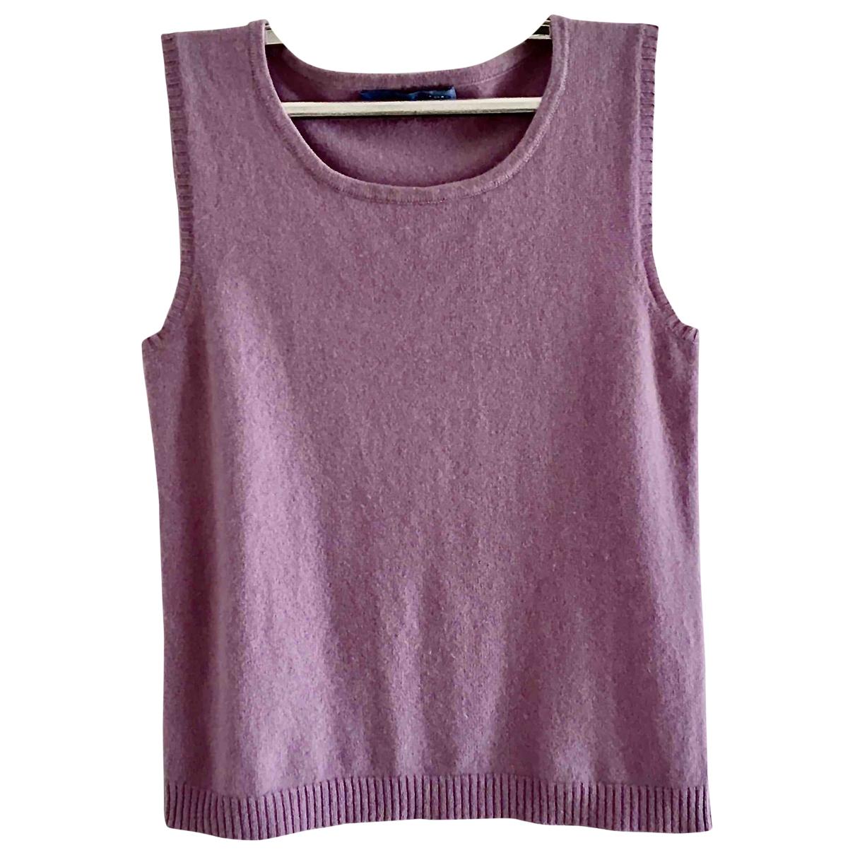 - Top   pour femme en cachemire - violet