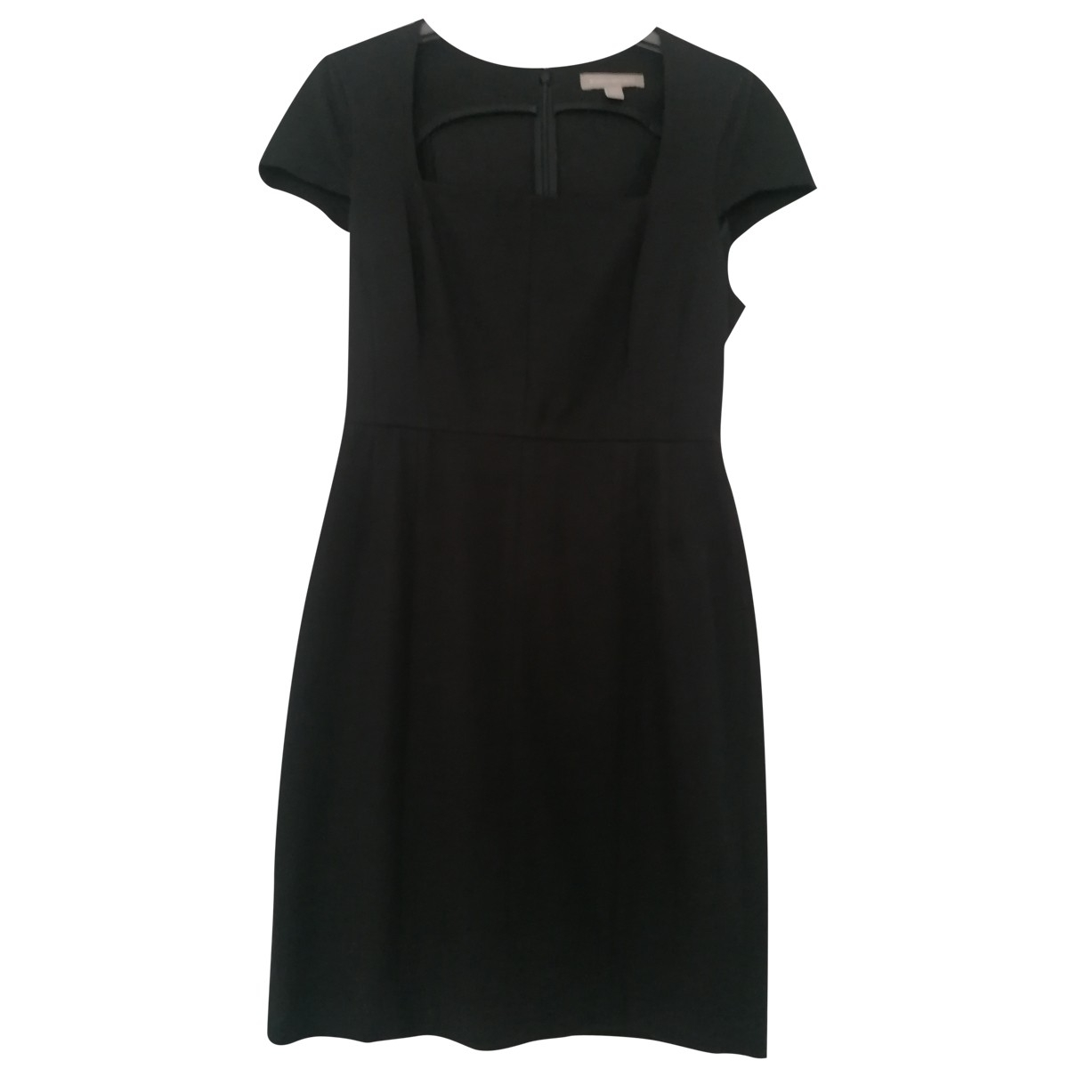 Banana Republic \N Black Cotton - elasthane dress for Women 8 US