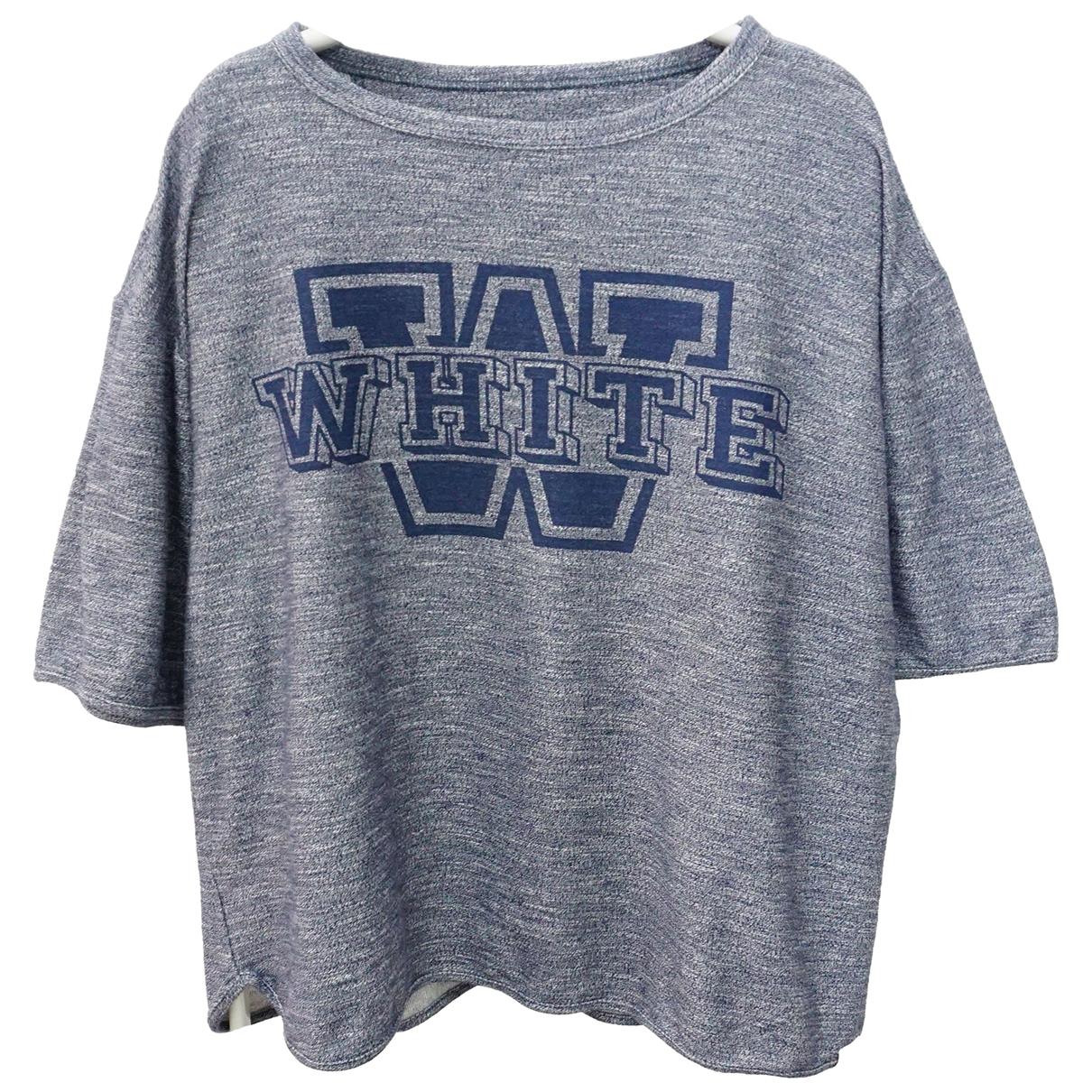 White Mountaineering \N T-Shirts in  Blau Baumwolle