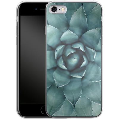 Apple iPhone 6 Silikon Handyhuelle - Beautiful Succulent von caseable Designs