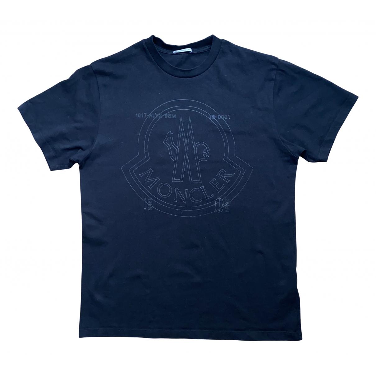 Moncler Genius - Tee shirts Moncler n°6 1017 Alyx 9SM pour homme en coton - noir