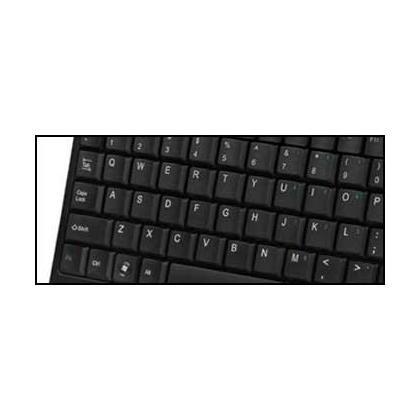 ADESSO SlimTouch 410 AKB-410UB Clavier normal USB avec clavier int egr e - noir