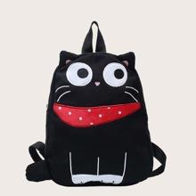 Kids Cat Design Backpack
