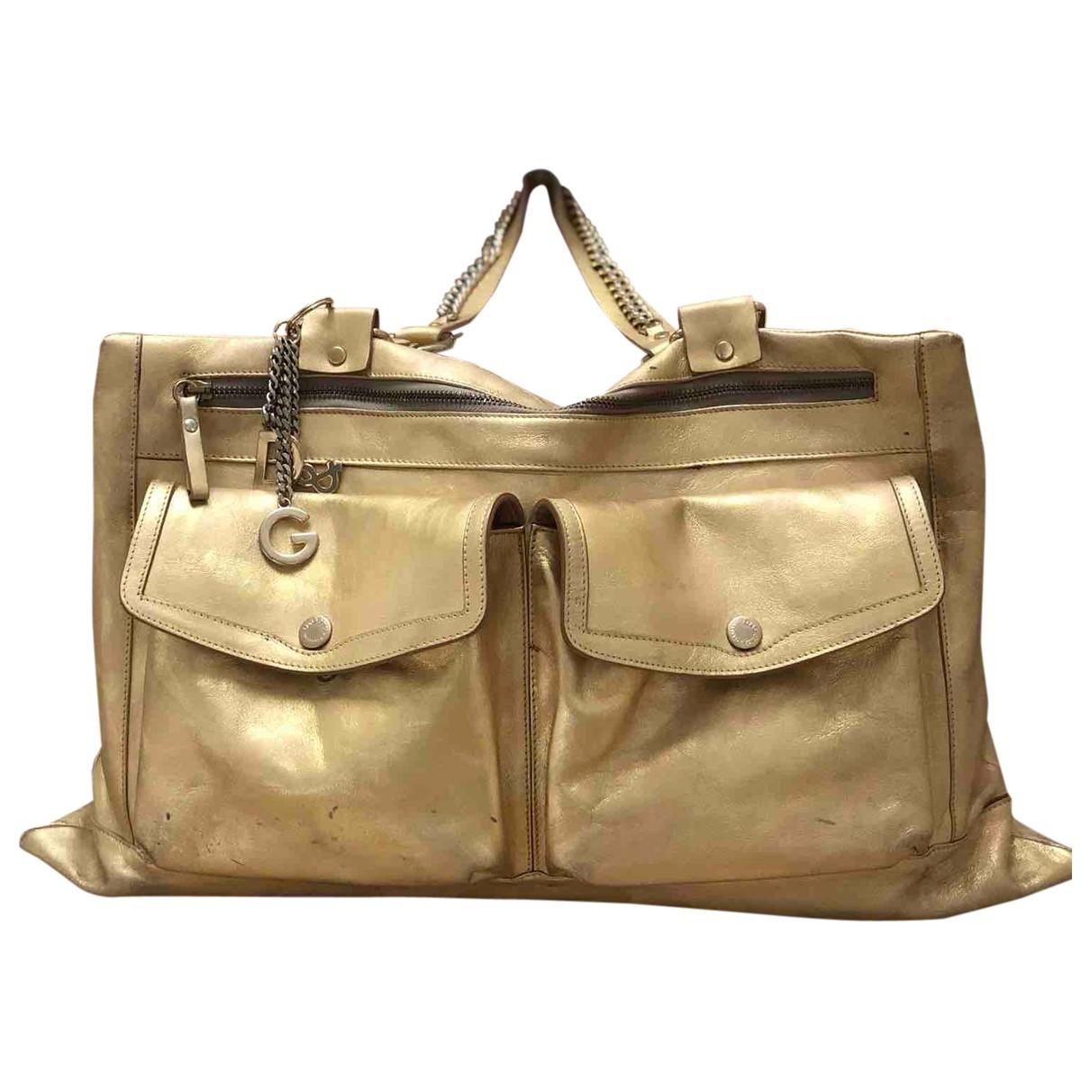 Dolce & Gabbana \N Gold Leather handbag for Women \N