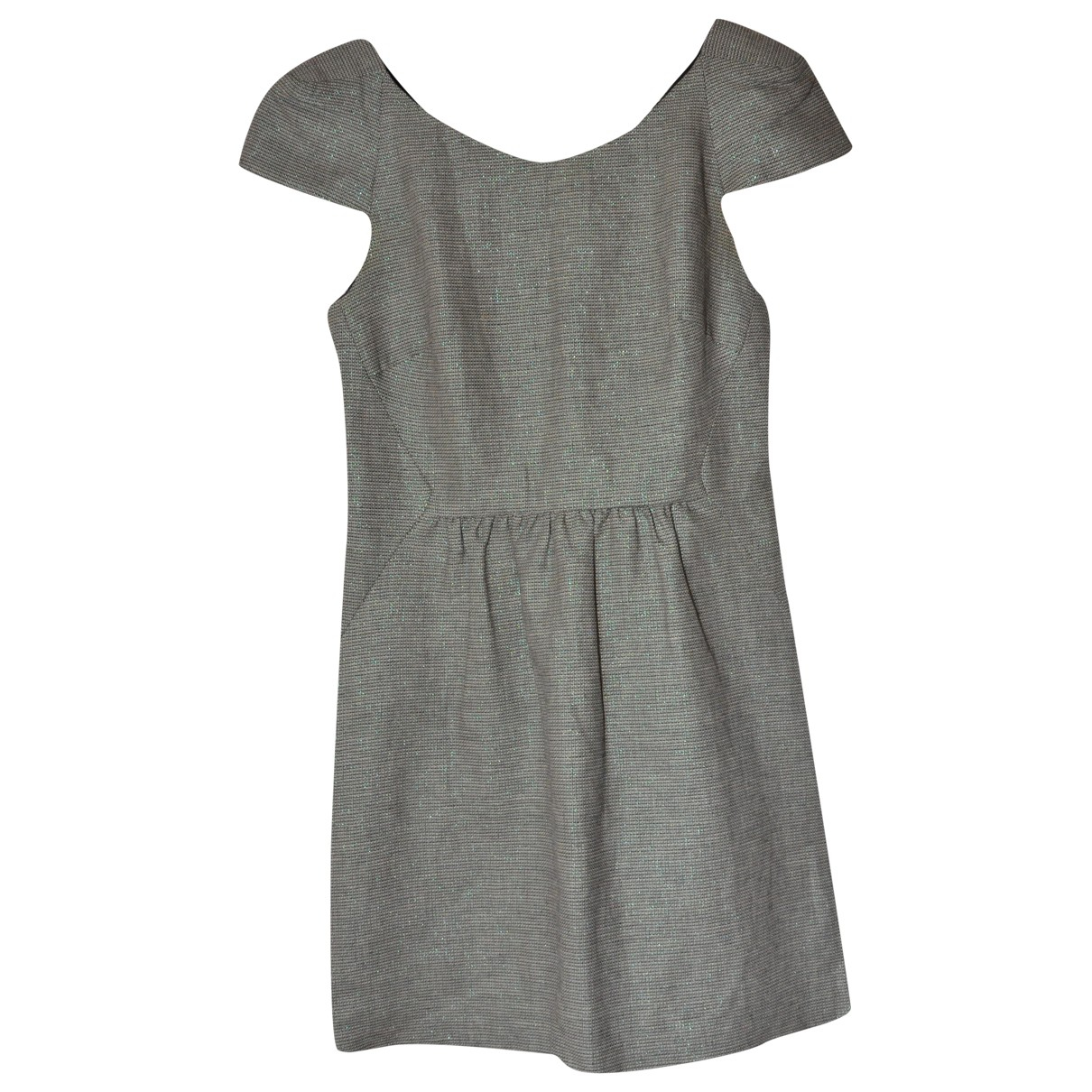 Ba&sh N Green Linen dress for Women 0 0-5