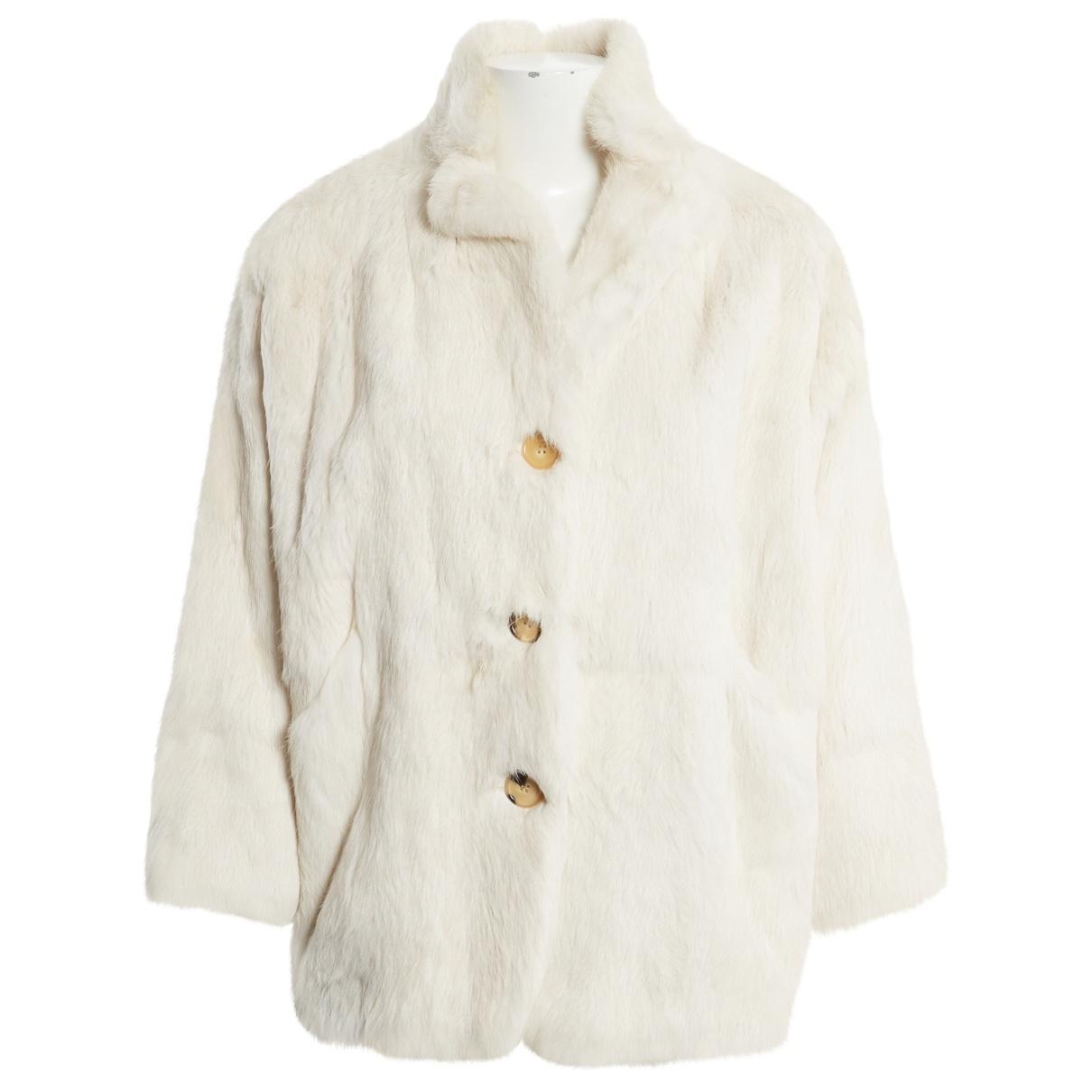 Isabel Marant \N Ecru Rabbit coat for Women 0 0-5