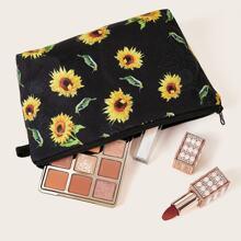Sonnenblumen Muster Makeup Tasche