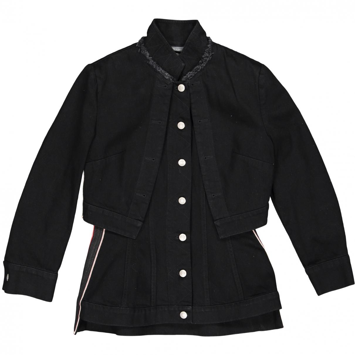 Alexander Mcqueen - Veste   pour femme en coton - noir
