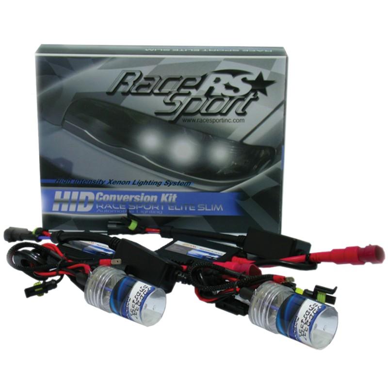 Race Sport Lighting H4-3-10K-BI-SLIM H4-3 Bi-Xenon 10K AC Super-Slim Ballast Kit
