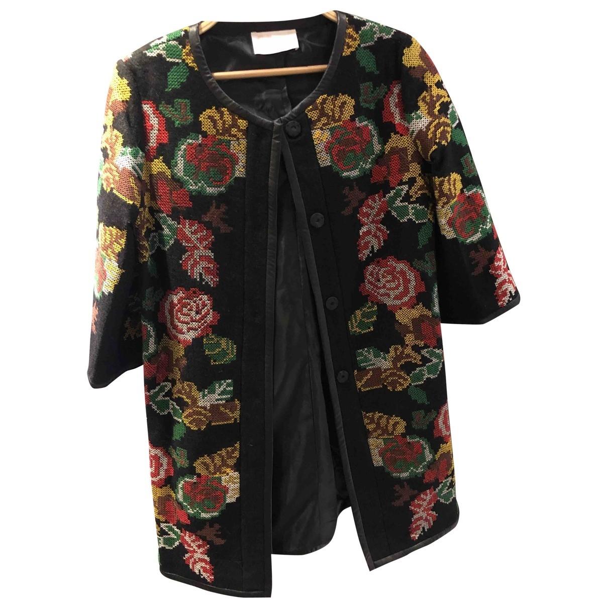 Lemaire X Uniqlo \N Black Wool coat for Women M International