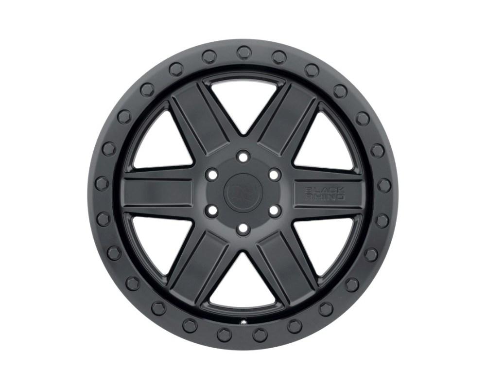 Black Rhino Attica Wheel 18x9.5 6x139.70|6x5.5 -18mm Matte Black w/Black Bolts