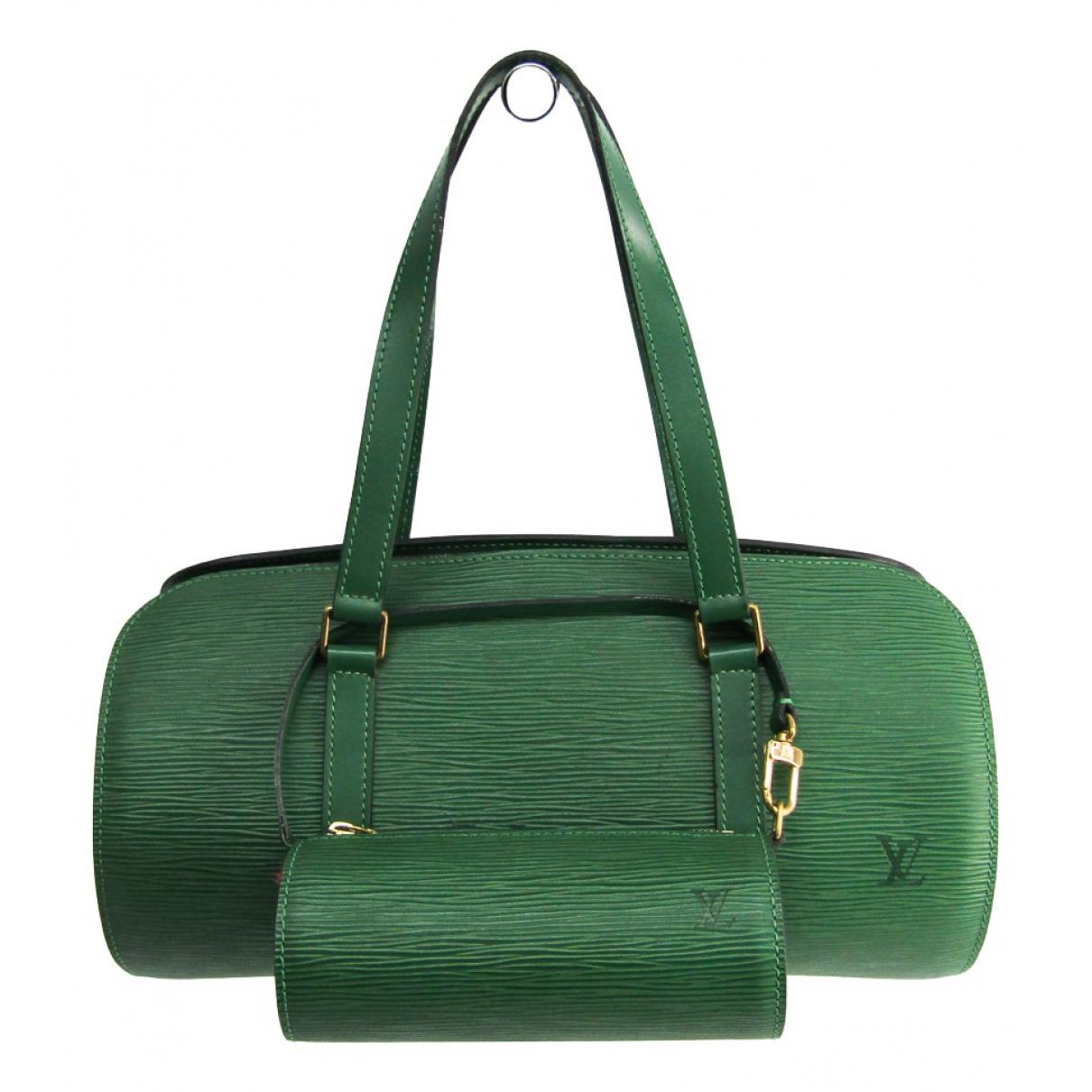 Louis Vuitton Papillon Green Leather handbag for Women N
