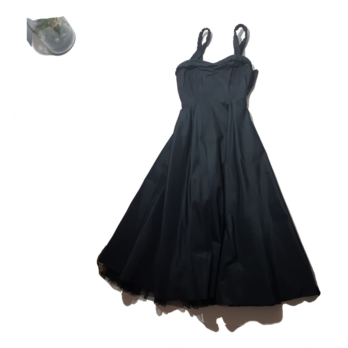 Adolfo Dominguez \N Kleid in  Schwarz Polyester
