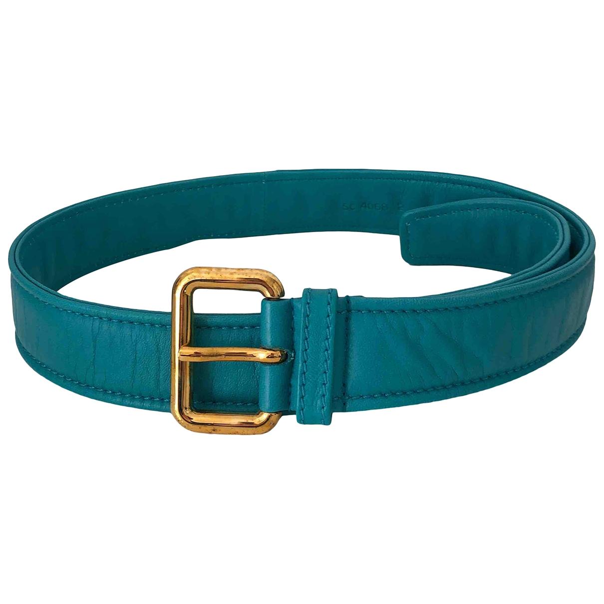 Cinturon de Cuero Miu Miu