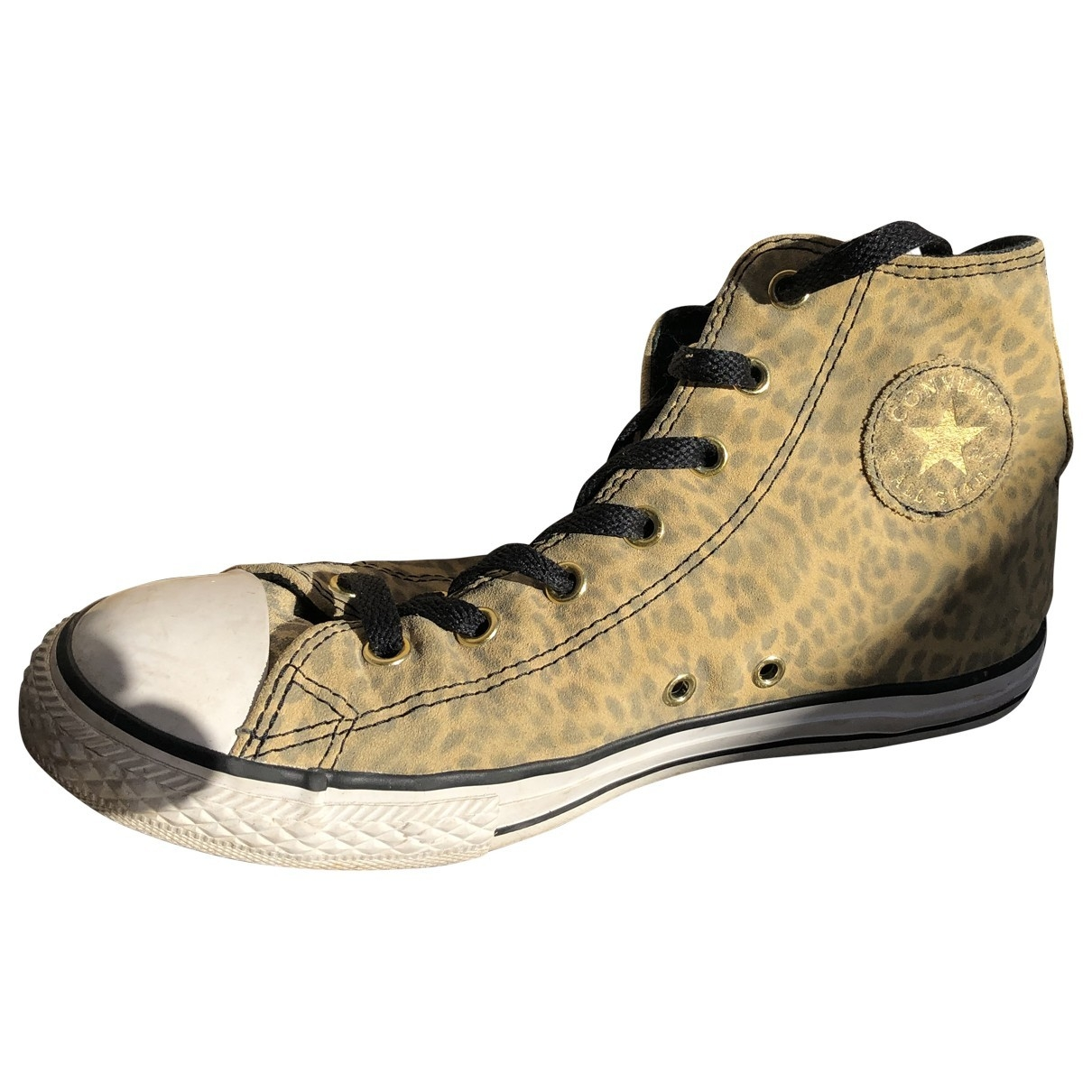 Converse \N Yellow Cloth Trainers for Women 36 EU