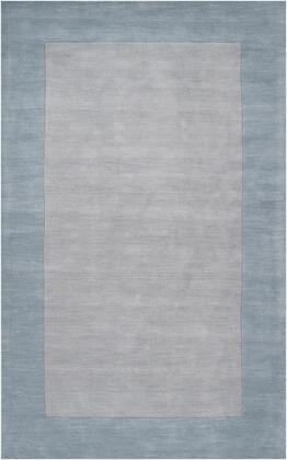 Mystique M-305 5' x 8' Rectangle Modern Rug in Medium Gray