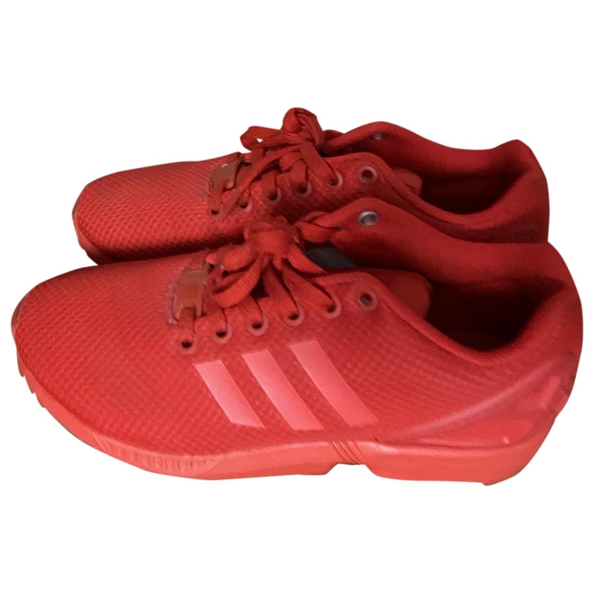Adidas - Baskets ZX pour femme - rouge
