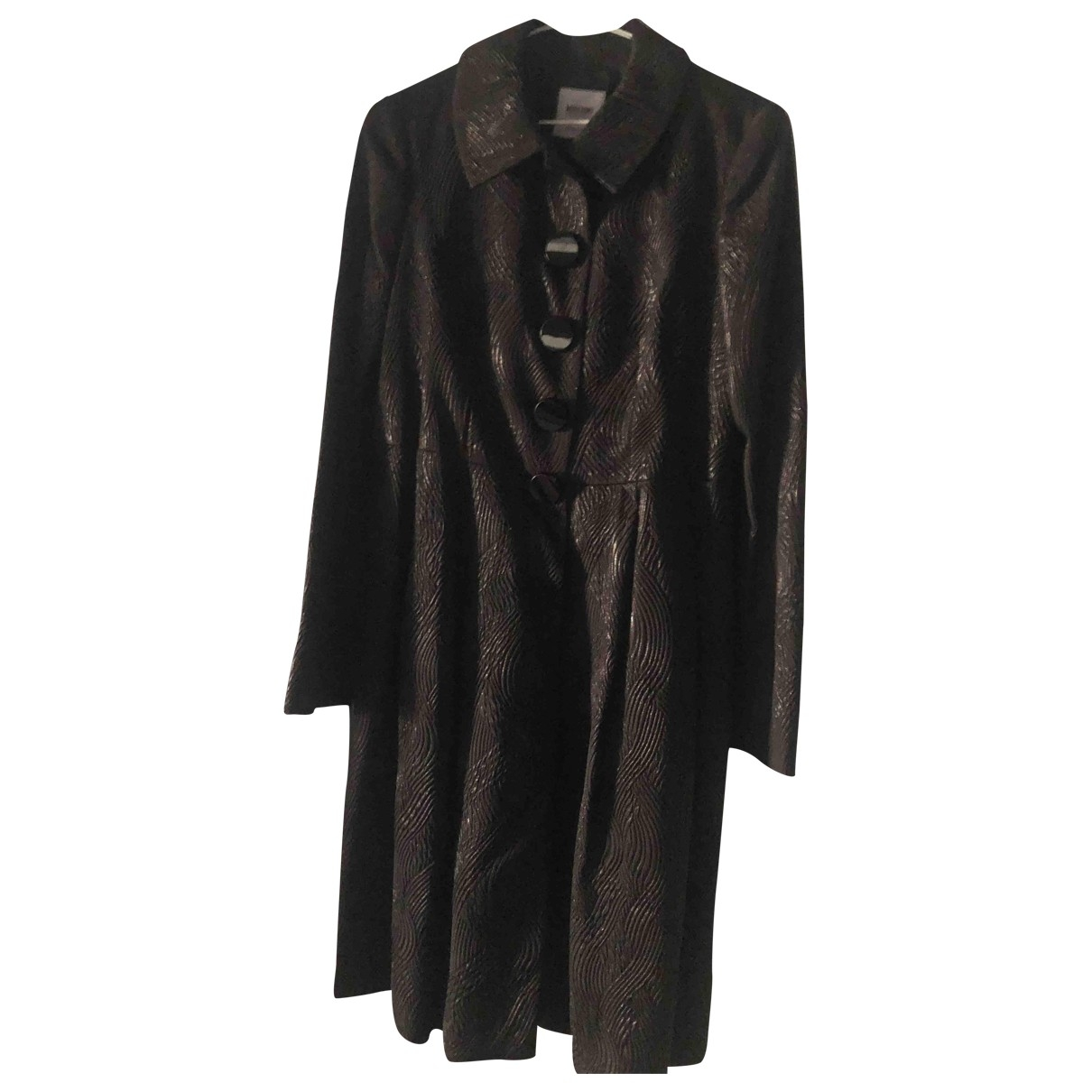 Moschino Cheap And Chic \N Black Silk coat for Women 38 FR
