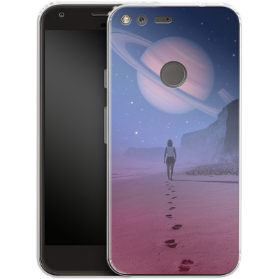 Google Pixel Silikon Handyhuelle - Glimpse of a Dream Wide von Enkel Dika