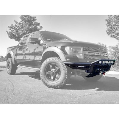 Addictive Desert Designs Race Series Front Bumper (Black) - F014162760103