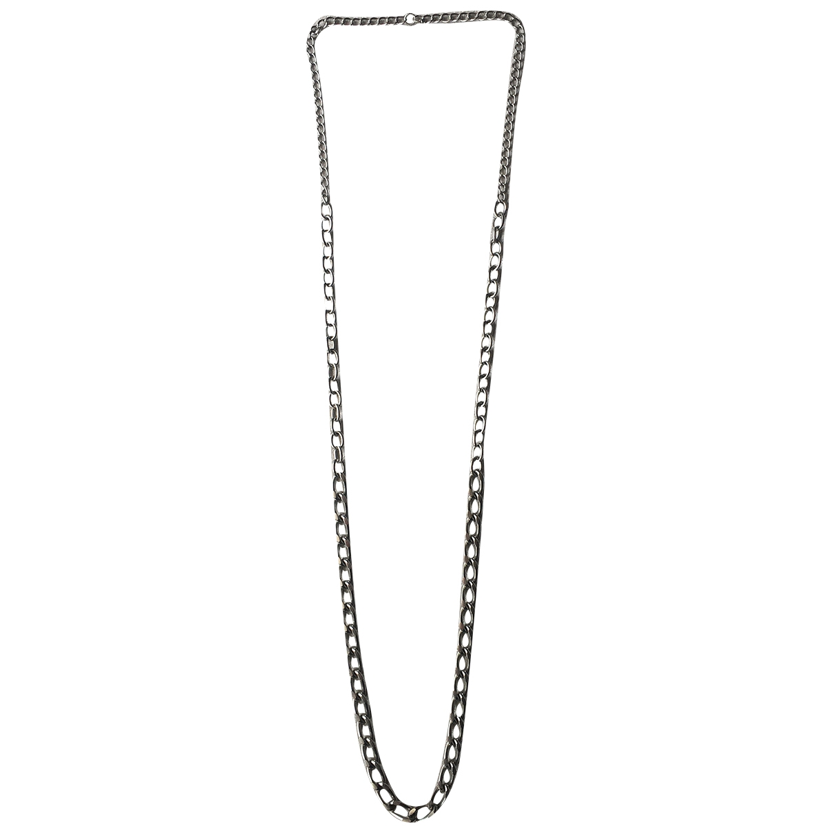 Non Signé / Unsigned Chaînes Silver Metal Long necklace for Women \N