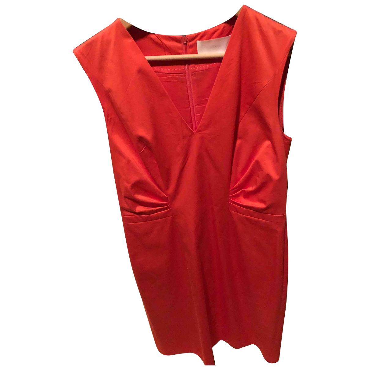 Boss \N Orange Cotton dress for Women 42 FR
