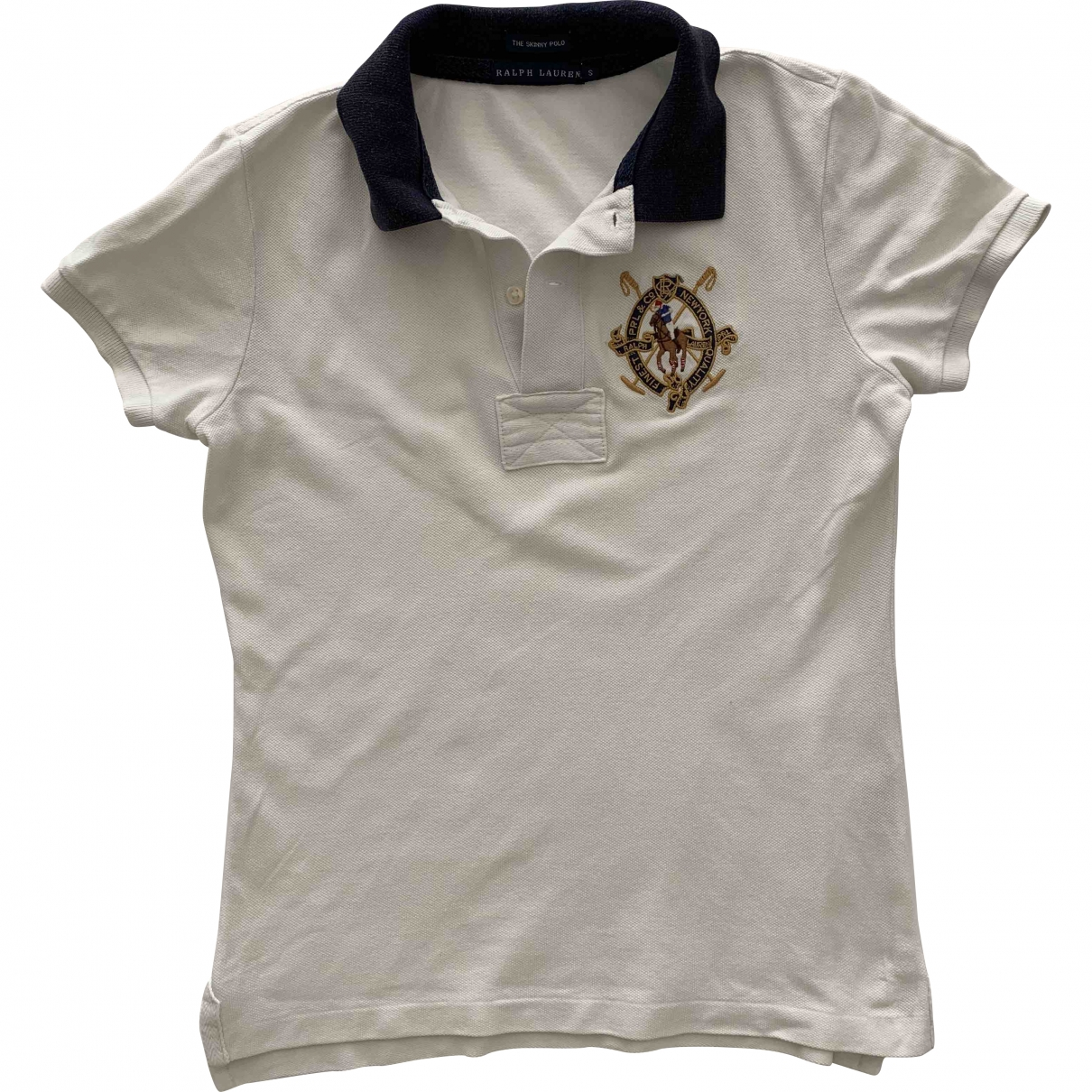 Polo Ralph Lauren \N White Cotton  top for Women S