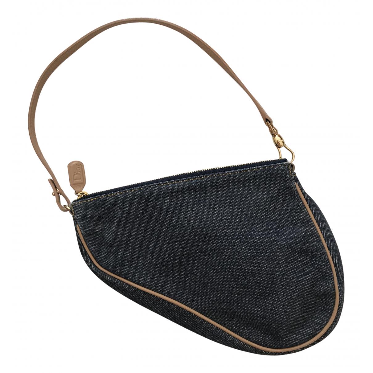 Bolsos clutch Saddle en Denim - Vaquero Azul Dior