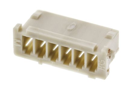Hirose , DF13 Male Connector Housing, 1.25mm Pitch, 6 Way, 1 Row (10)