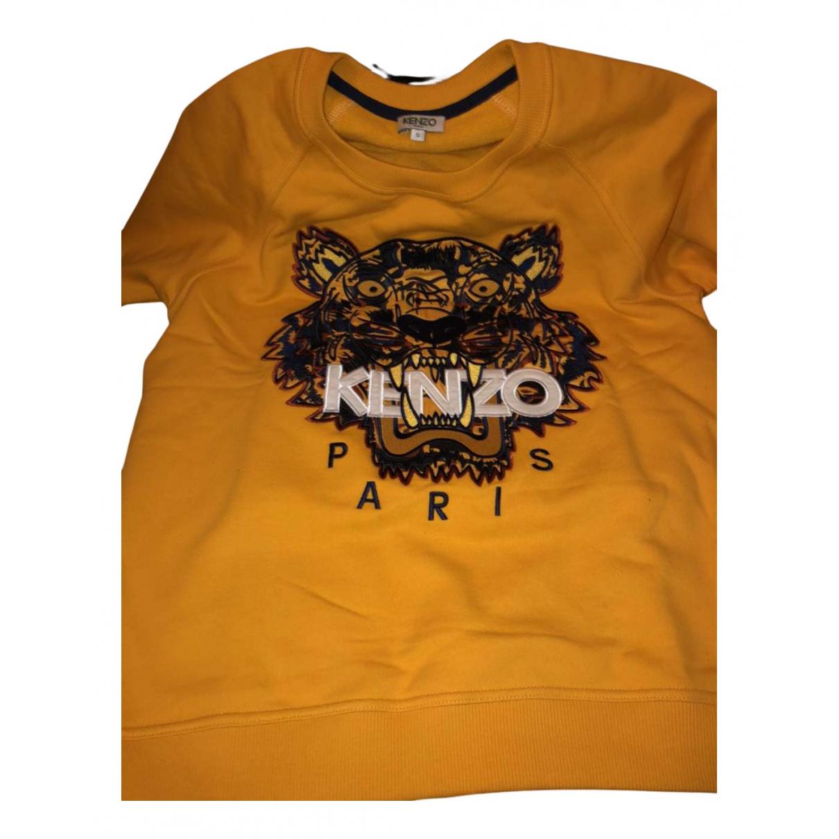Kenzo \N Pullover.Westen.Sweatshirts  in  Gelb Baumwolle