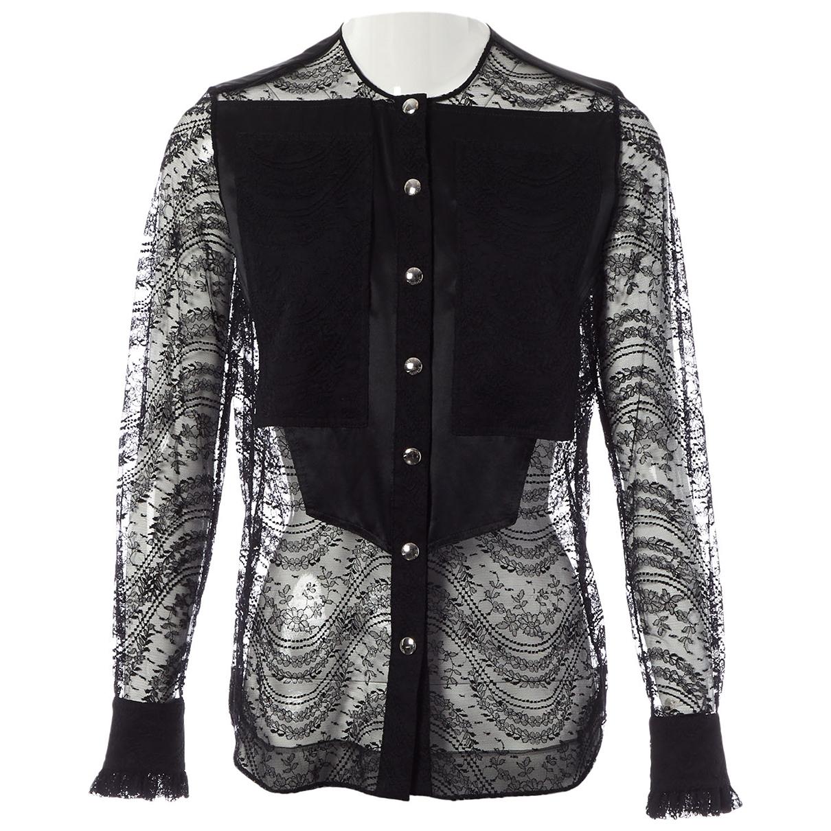 Givenchy - Top   pour femme en dentelle - noir