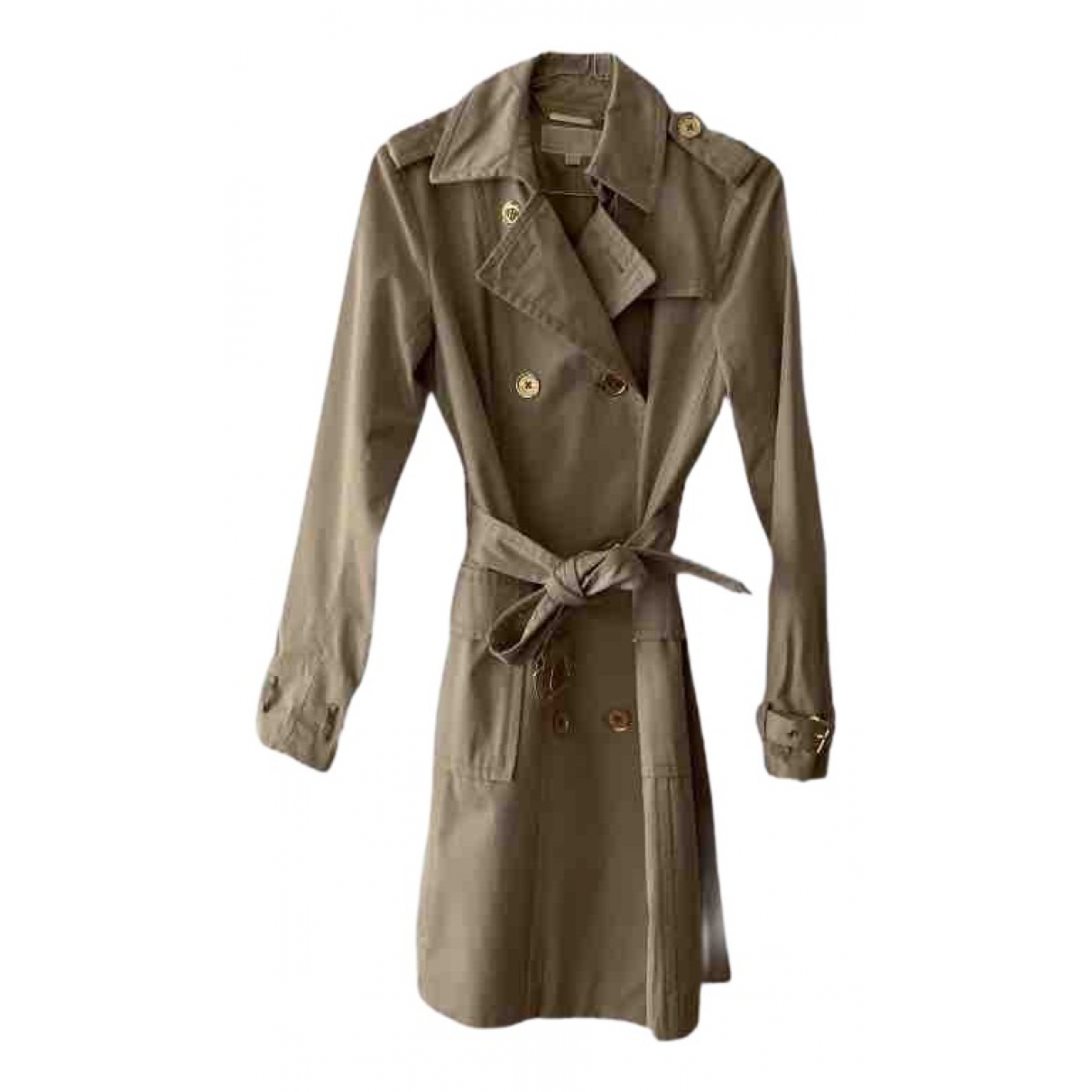 Michael Kors \N Beige Cotton Trench coat for Women XS International