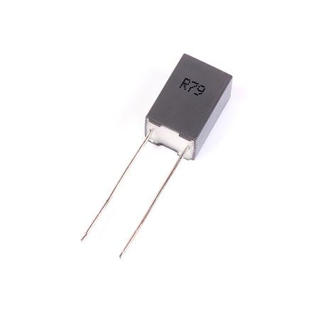 KEMET 100nF Polypropylene Capacitor PP 70 V ac, 160 V dc ±5% Tolerance Through Hole R79 Series (10)