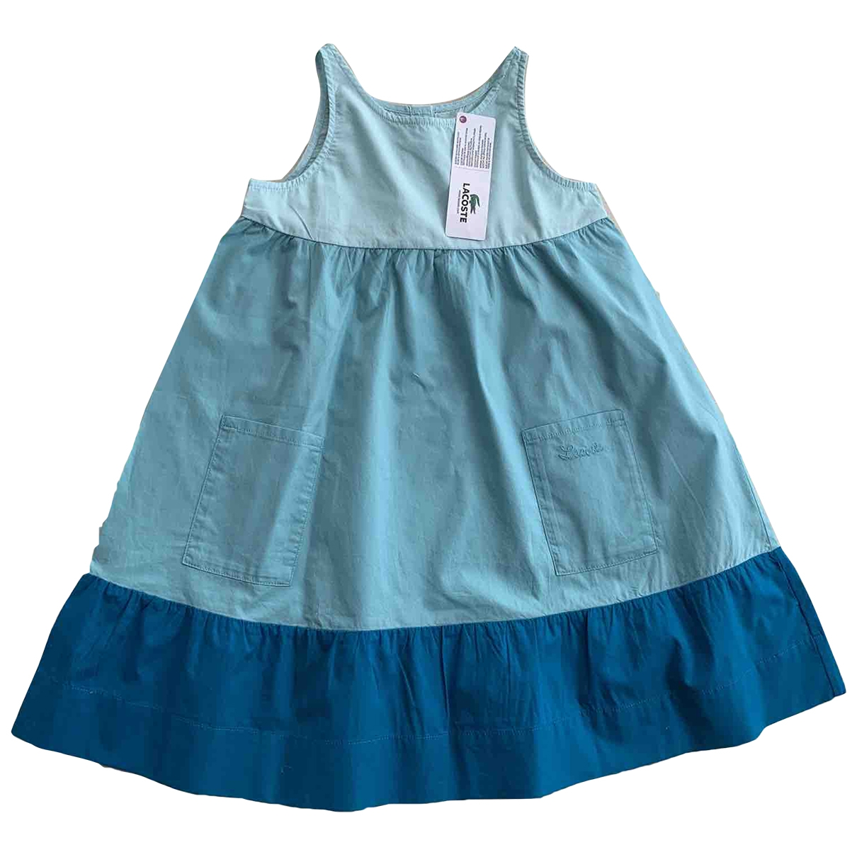 Lacoste \N Blue Cotton dress for Kids 6 years - up to 114cm FR
