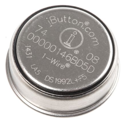 Maxim Integrated Maxim DS1990A-F3+, iButton Serial Number for DS1990A (100)