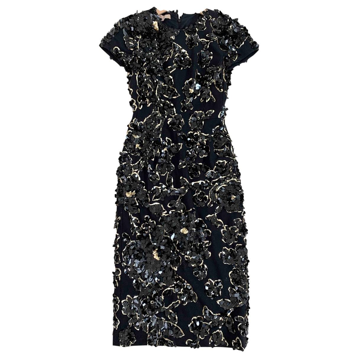 Michael Kors - Robe   pour femme en soie - noir