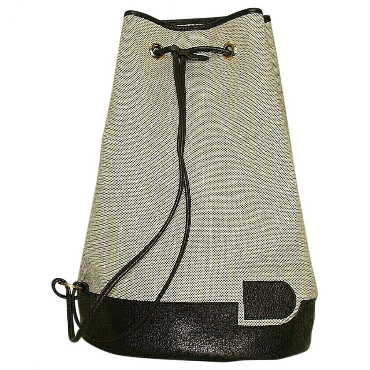 Delvaux \N Handtasche in  Ecru Leinen