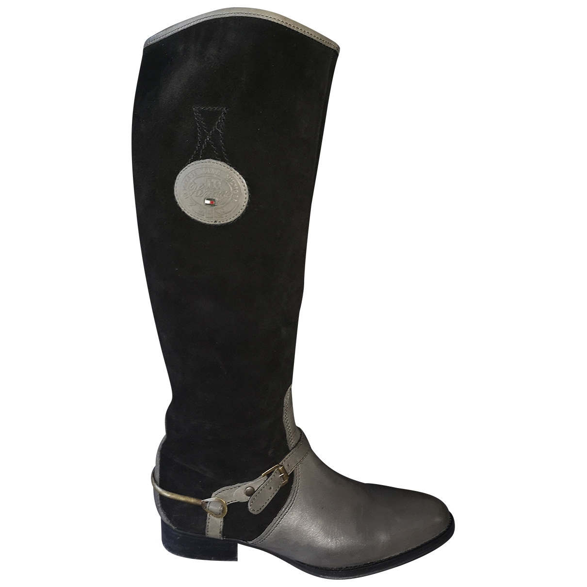 Tommy Hilfiger \N Leather Boots for Women 39 EU