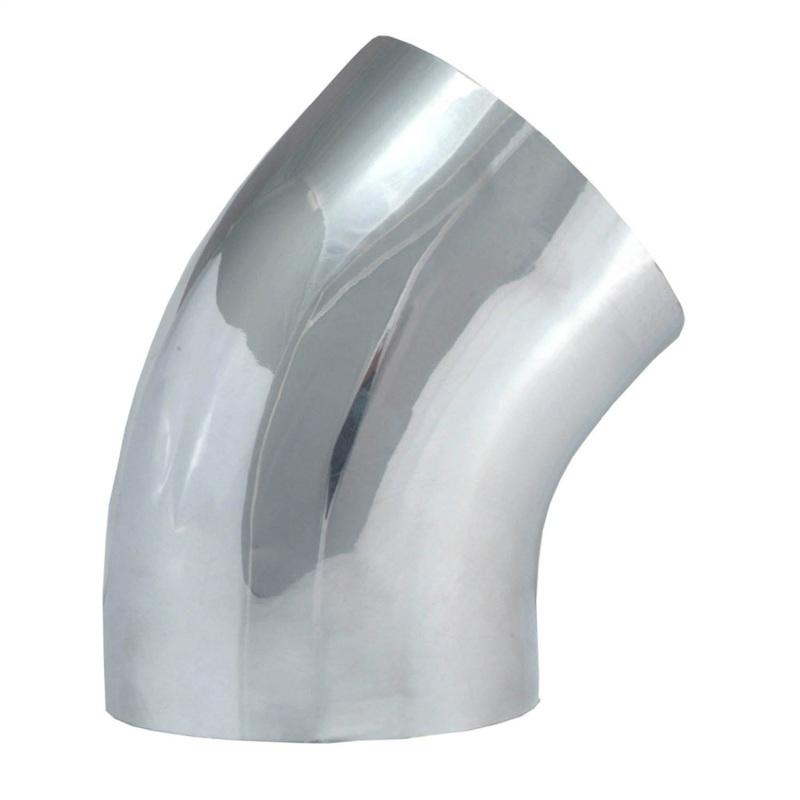 Spectre 9749 Universal Tube Elbow 4in. OD / 45 Degree - Aluminum