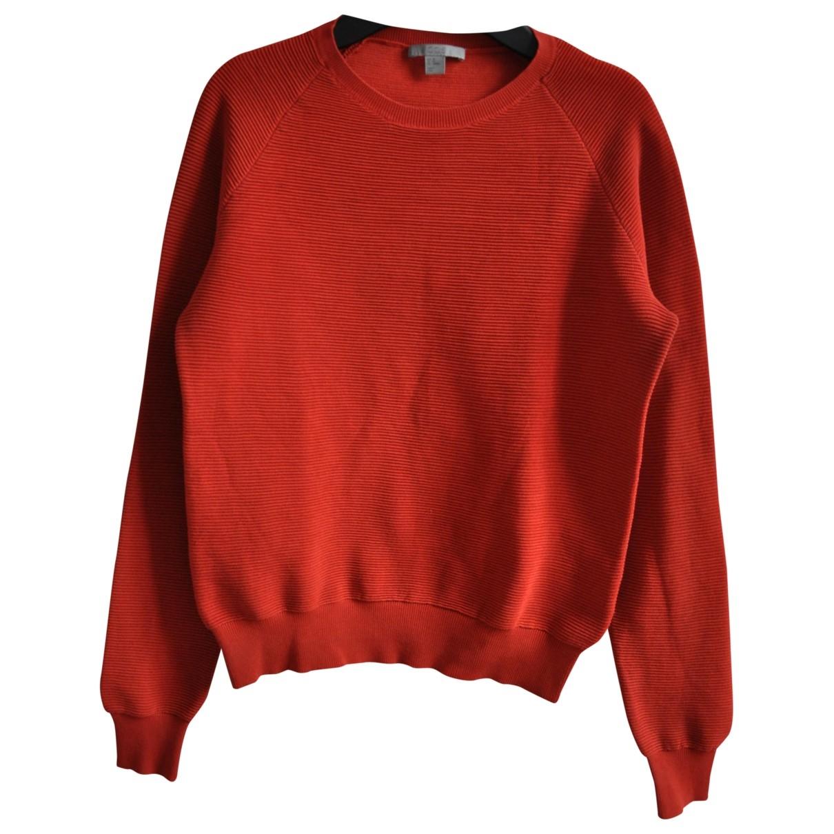 Cos \N Pullover in  Rot Baumwolle