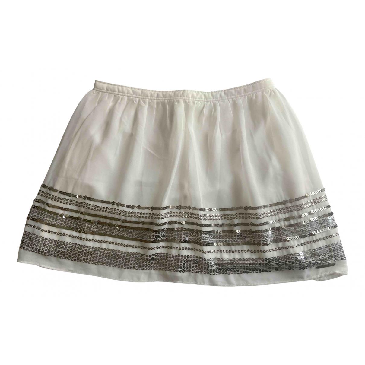 Abercrombie & Fitch - Jupe   pour femme - blanc