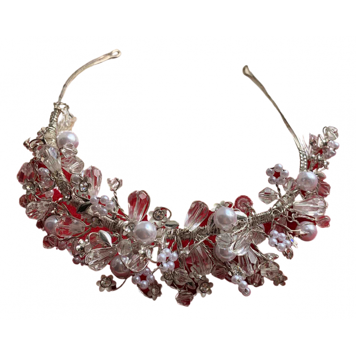 Non Signé / Unsigned N Silver Metal Hair accessories for Women N