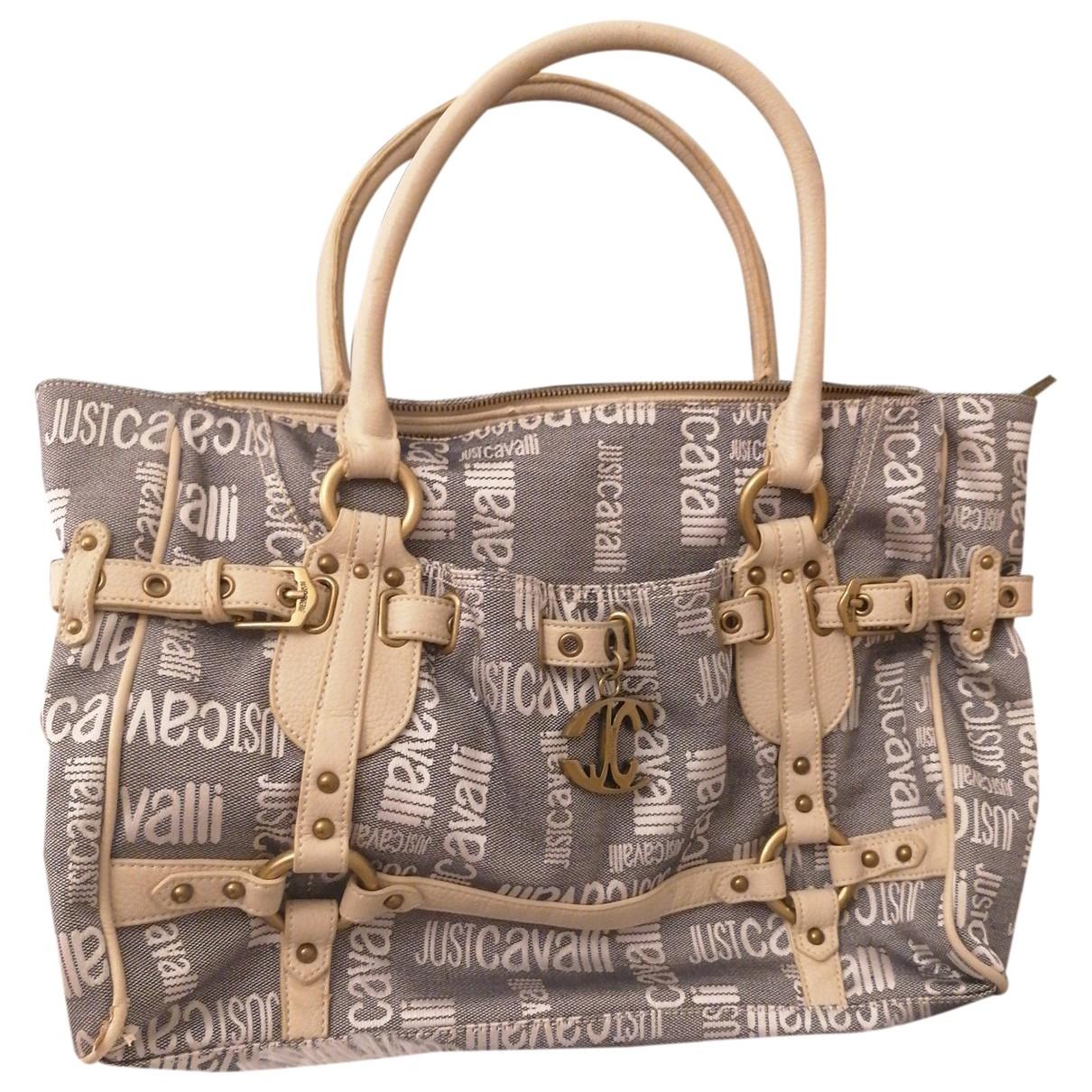 Just Cavalli \N Blue Denim - Jeans handbag for Women \N