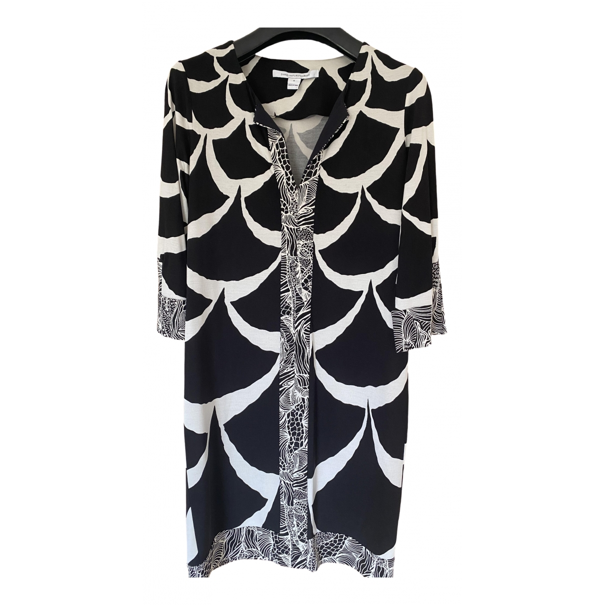 Diane Von Furstenberg \N Black Silk dress for Women 8 US