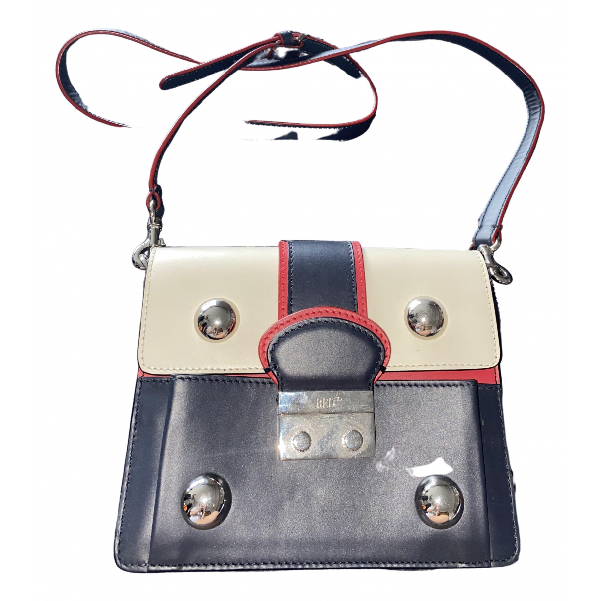 Red Valentino Garavani \N Red Leather handbag for Women \N