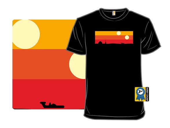 Dune Sea T Shirt
