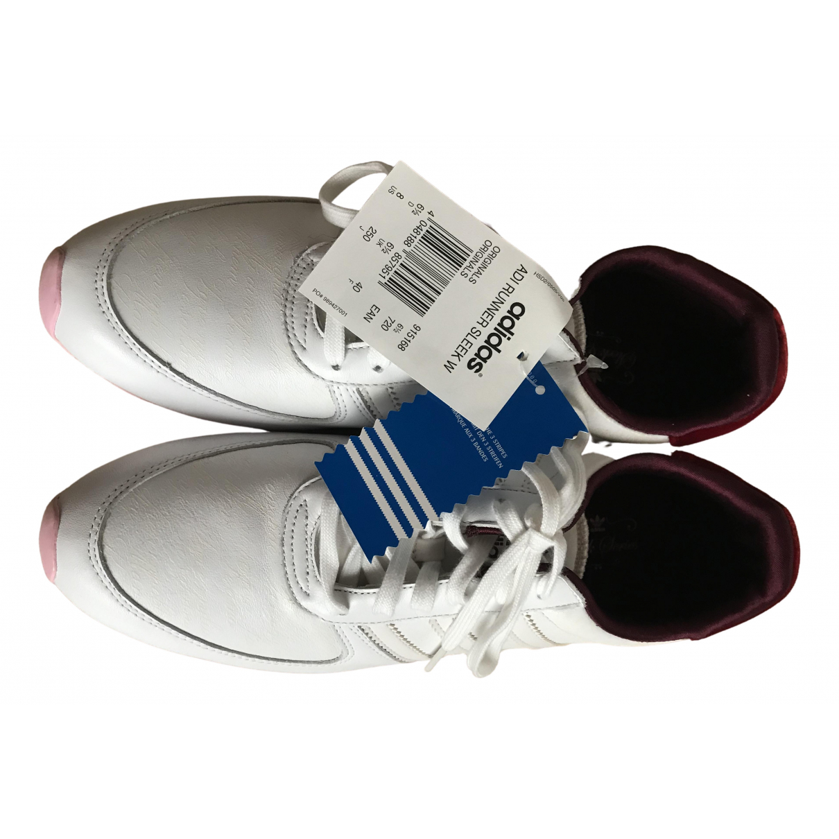 Adidas \N White Leather Trainers for Women 40 IT
