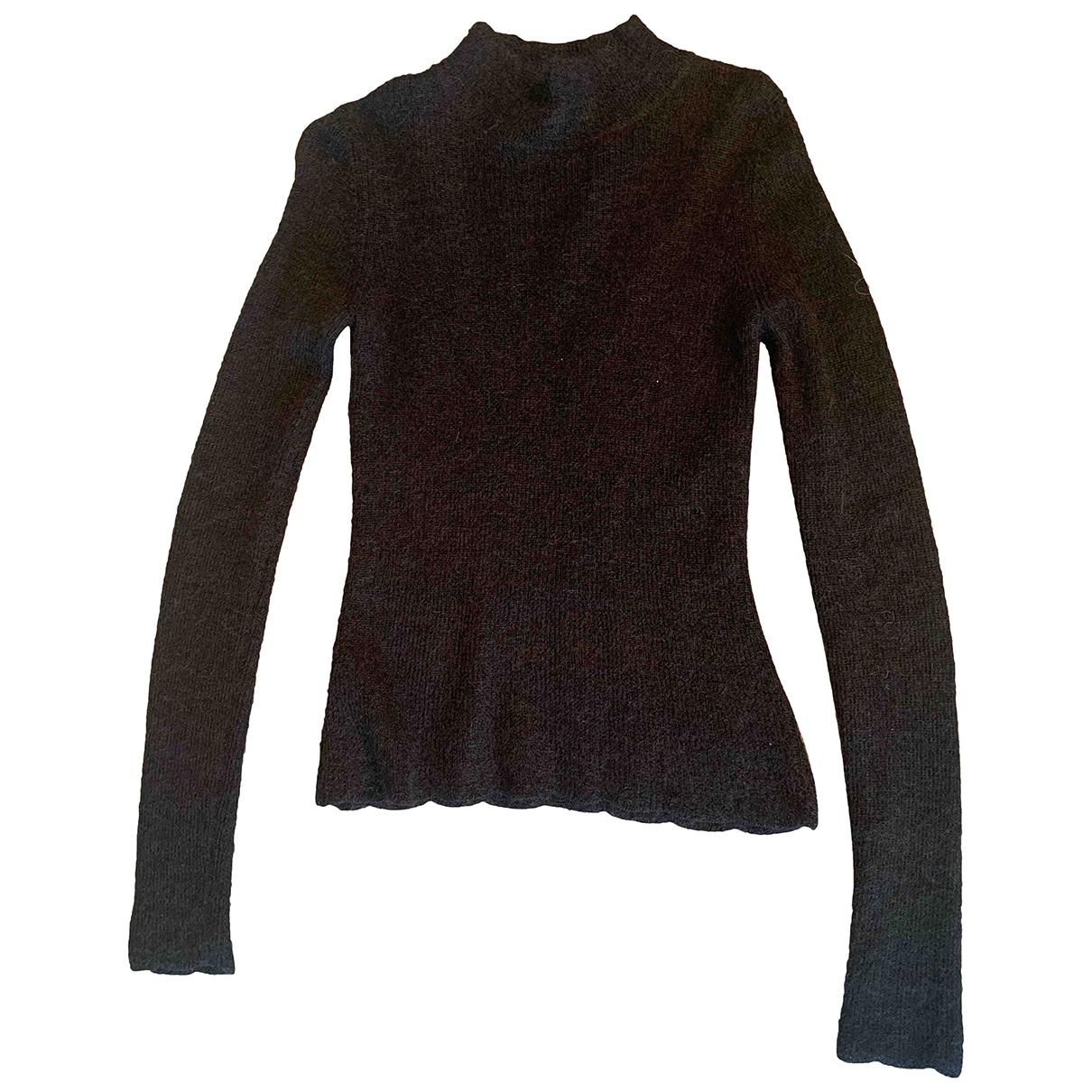 Carven - Pull   pour femme en laine - noir